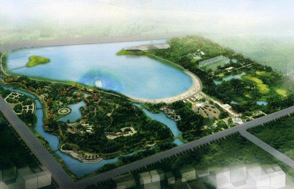 滨州市中海风景区改造工程