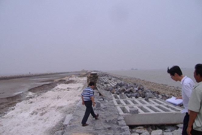 滨州港引堤工程